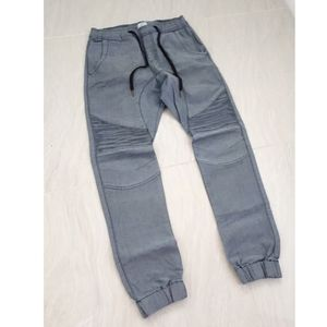 Kuwalla Tee Mens Moto Jogger Jeans